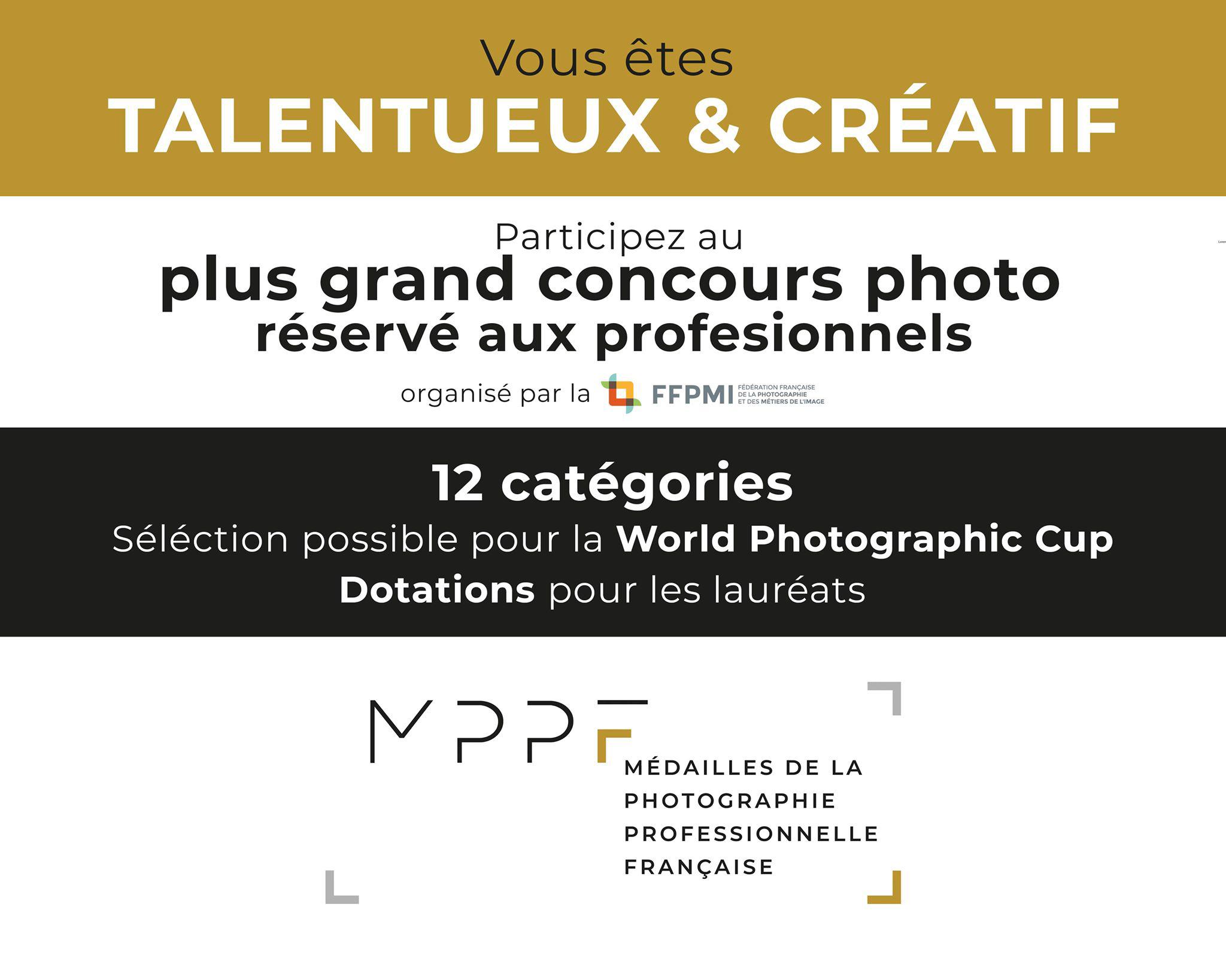 Médailles de la Photographie Professionnelle Française 2020