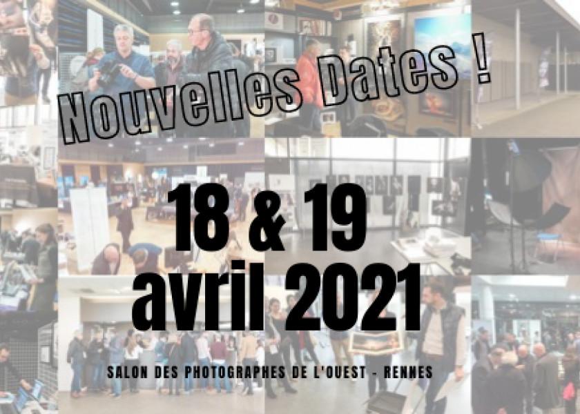 """Nouvelles Dates pour notre """"Salon des Photographes de l'Ouest"""", édition 2021 Boîte de réception"""
