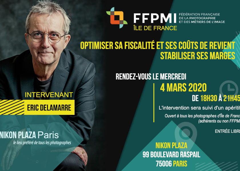 Eric Delamarre avec la FFPMI Paris - 2 Mars 2020