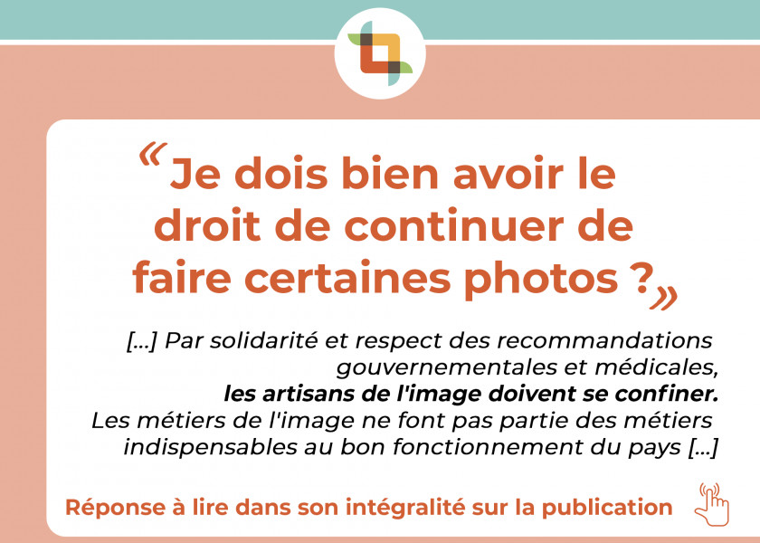 ‼️ COVID-19 _ ALERTE A L'ATTENTION DE TOUS LES PROFESSIONNELS DE L'IMAGE ‼️