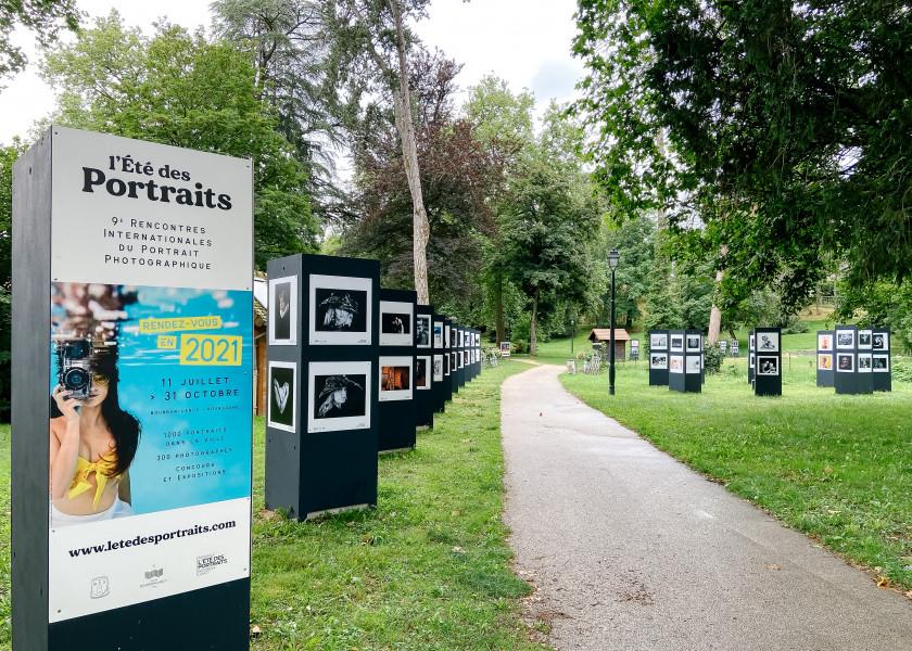 La FFPMI Ile de France expose à L'été des portraits